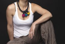 """pendant"" crochet necklace / Yarn in Use design"