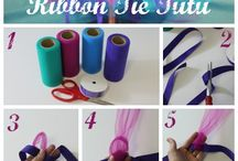 Tutu / Color how to do tutus