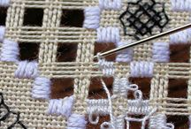 Beyond Cross Stitch / Some of my cross stitch patterns require Hardanger or Drawn Thread techniques. I should learn those to complete my work; and there's plenty of reference, thankfully!