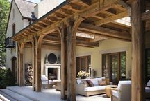 Outdoor Spaces - Oasis / Porches with swings - patios for entertaining guests - Decks for families. Whatever you use your outdoor space for, make it your own.