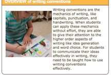 Writing Conventions / Grade 3. Writing conventions refer to aspects such as spelling, punctuation and grammar, and with proper use, make ones writing clear and understandable for readers (BLD).