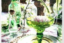 Jane´s Table setting, dukningar av Jane