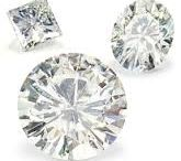 Moissanite Diamond / Moissanite is the rare mineral form of silicon carbide (SiC) which has been found in meteorites and in mantle derived igneous rocks.It is classed in the element group in both the Dana and mineral class.