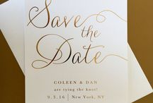 Save the date & Invitation