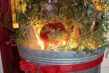 Winter wonderland decorations!