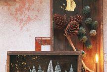 WeihnachtenMandarinen Kisten