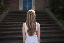 HAIR INSPIRATION  / by Michaela Warner