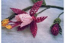 iğne oyası küpe çiçeği