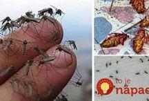 sprej proti komárům