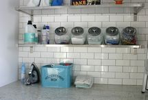 laundry room. / by Kim Lester