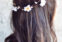 Flower Hair / Hairstyle