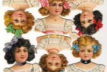 Antique Paper Dolls & Scrap