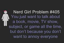 nerd girl promlem