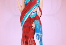 Chiffon Sarees / Light weight, colourful and trendy Chiffon sarees for you to notch up your style!