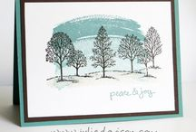 "Stamp set ""Lovely as a Tree"""
