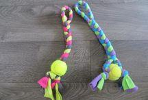 Honden speeltjes maken