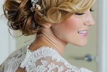 hair / bridal hair styles