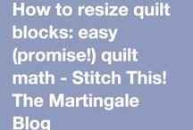 resize quilt blocks