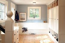 Garage mudroom / by Crystal P