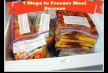 Freezer Foods / #FrigidaireTimeSavingFreezerRecipesSweepstakes