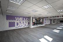 Дизайн интерьера танцевальной студии / http://hti-design.ru/portfolio/projects/design-interiera-tanzevalnoy-studii.html