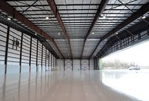 Metal Airplane Hangars