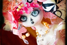 ~Art Dolls~2 ~ / Continues in ~Art Dolls~3~ I love dolls and have lots of doll boards and all the pins have been shared with me. Thanks! I don't own any, so take all you like :) / by Tammy Maria Settles