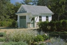 garden sheds . gartenhäuser