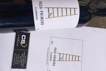 Wine labels / Awesome wine labels, printed digitally by yours truly...