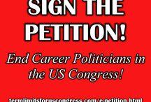 Sign the e petition... / https://www.facebook.com/TermLimitsforUSCongress?ref=br_tf