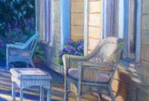 Available Works / Original Paintings and Giclee Prints by Debbie Wardrope - available at Studio Seven Arts in Pleasanton.
