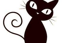 koty - szablony