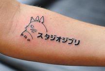 Beautiful Anime Tattoos