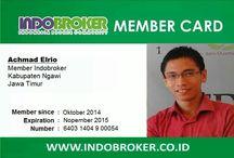 Indobroker Member Card (IMC) / Kartu Keanggotaan Indobroker