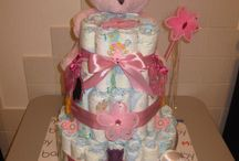 diaper cakes / cute gifts for newborns