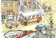 desenhos para meios de transporte