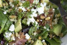 Saladebar! / Heerlijke en gezonde salades...