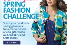 2015 SewStylish Spring Fashion Challenge / Enter the 2015 SewStylish Spring Fashion Challenge for a chance to win a $100 gift card to Jo-Ann Fabric and Craft stores. Enter at this link - http://www.threadsmagazine.com/item/42162/enter-the-2015-sewstylish-spring-fashion-challenge / by Threads Magazine