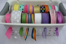 Craft and party Supply Storage / by Trisha Kurka