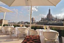 Rooftop terrace...Milano Italy end....... / terrazze speciali a Milano e nel mondo