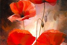 poppies / painting poppies