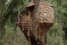 ağac ev