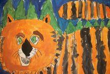 Kindergarten Projects / Kindergarten art lesson ideas