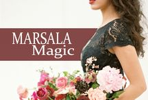 Marsala Magic / The Color of the Year for 2015 is Marsala and we are bringing you all of our favorite Wedding and Fashion inspiration! / by Watters