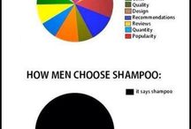 Men vs Women / Random stuff I find entertaining or amusing about men vs women, and the wonderful ways they're different.