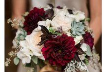 Bröllop - brudbukett