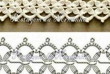 Crochet Edging/Finishing / Decorative crochet edging / by Jane Redican