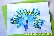 Hands n feet art for kids