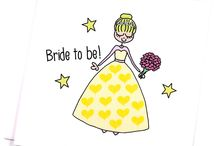 Weddings / A collection of all things #weddings #romance #illustration #gifts