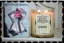 Kitten D'Amour Candles / Here is a selection of Candles